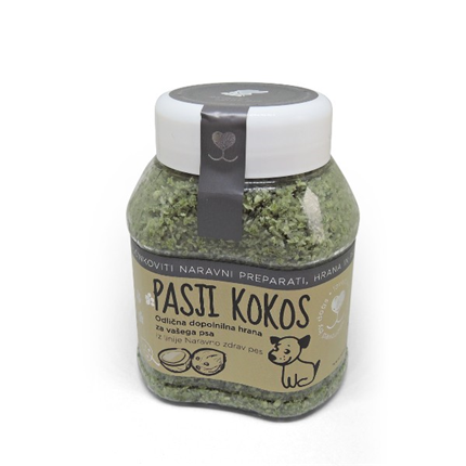 Pasji kokos s konopljinimi semeni - 300 g