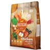 Rustican Gluten Free - piščanec, losos in riž 12 kg