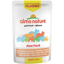 Almo Nature HFC Raw Pack - piščančji file in šunka
