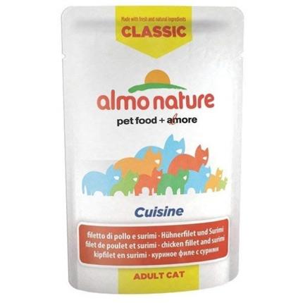 Almo Nature HFC Cuisine - piščančji file in surimi