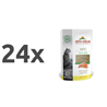 Almo Nature HFC Natural – piščanec in losos 24 x 55 g