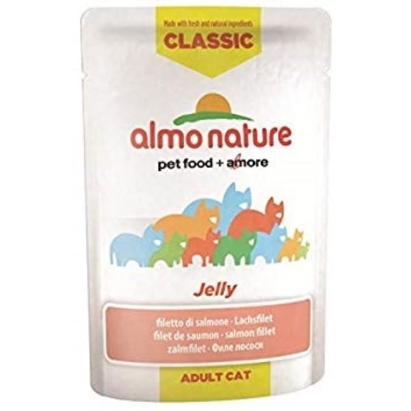 Almo Nature HFC Jelly - file lososa