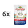Almo Nature HFC Raw Pack - file Skip Jack tuna 6 x 55 g