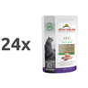 Almo Nature HFC Raw Pack - piščančja prsa in file race 24 x 55 g