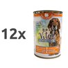 Dog Vital Sensitive - puran in rjavi riž 12 x 400 g