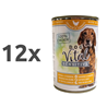 Dog Vital Sensitive - piščanec in korenje 12 x 400 g