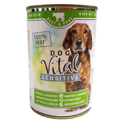 Dog Vital Sensitive - govedina in grah
