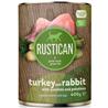 Rustican konzerva Adult - puran in kunec 400 g