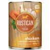 Rustican konzerva Adult - piščanec in losos 400 g