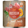 Rustican konzerva Adult - govedina in jagnjetina 800g