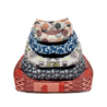 Leopet oglato ležišče Rodi, mix barve 60 x 70 cm