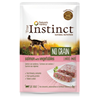 True Instinct No Grain Adult - losos in zelenjava - 70 g 70 g