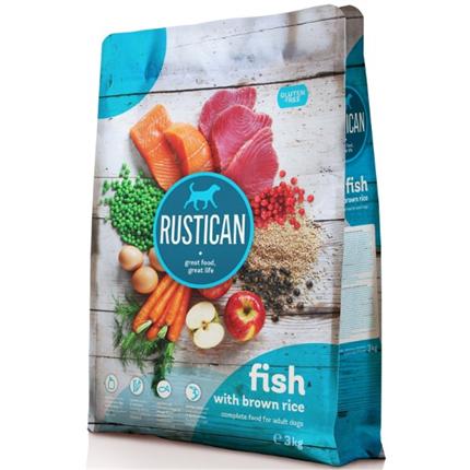 Rustican Gluten Free - riba in riž