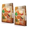 Rustican Gluten Free - piščanec, losos in riž 2 x 12 kg