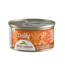 Almo Nature Daily konzerva - puran in raca - 85 g