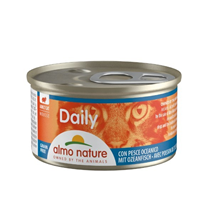 Almo Nature Daily Mousse konzerva - oceanske ribe - 85 g