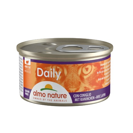 Almo Nature Daily Mousse konzerva - kunec - 85 g