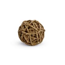 Beeztees pletena žoga, vrbov les - 8 cm