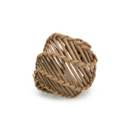 Beeztees pletena žoga Aluka, vrbov les - 9 cm