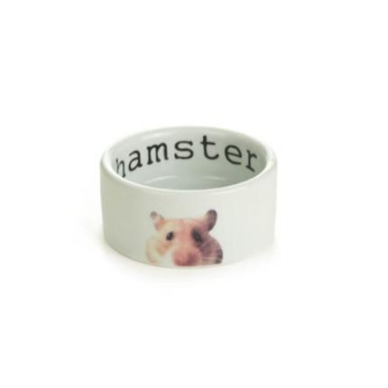 Beeztees keramična posoda Hamster - 7,5 x 4 cm