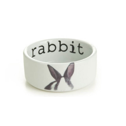 Beeztees keramična posoda Rabbit - 11,5 x 4 cm