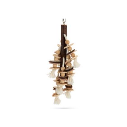 Beeztees igrača za papige Balto, lesena - 47 cm