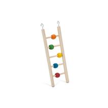 Beeztees lesena lestev s kroglicami, 7 stopnic - 30 cm