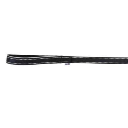 Camon povodec Reflective neopren, črn - 120 cm