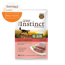 True Instinct No Grain Adult - govedina in zelenjava - 70 g