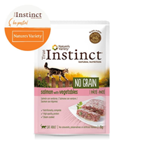 True Instinct No Grain Adult - losos in zelenjava - 70 g