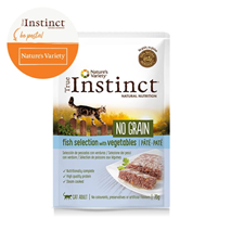 True Instinct No Grain Adult - riba in zelenjava - 70 g