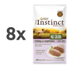 True Instinct No Grain Adult Mini - puran in zelenjava - 150 g 8 x 150 g
