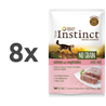 True Instinct No Grain Adult - losos in zelenjava - 70 g 8 x 70 g