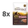 True Instinct High Meat Adult - losos in zelenjava - 70 g 8 x 70 g