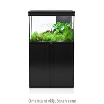 Akvarij Aquatlantis Elegance Expert LED 2.0 80 (180 L), črn - 81 x 40,4 x 55 cm