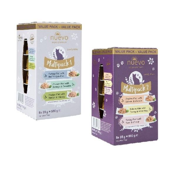 Nuevo Alu Multipack - dve pakiranji 2x multipack mešani okusi