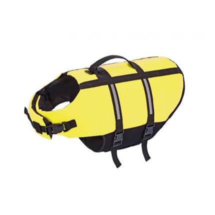 Nobby plavalni jopič za psa, neon rumen - Small
