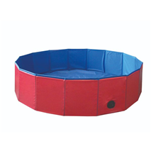 Nobby bazen za pse, rdeče moder - fi 80 x 20 cm