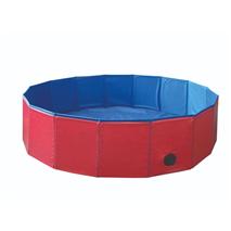 Nobby bazen za pse, rdeče moder - fi 160 x 30 cm