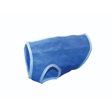 Nobby hladilni jopič, moder - 28 cm