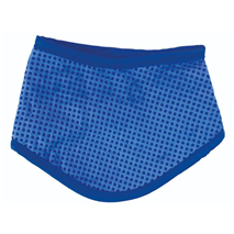 Nobby hladilna bandana, modra - 18 - 30 cm