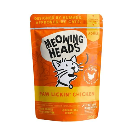 Meowing Heads Paw Lickin' Chicken - piščanec - 100 g
