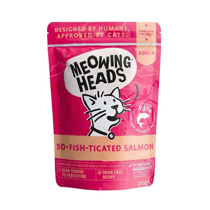 Meowing Heads So-fish-ticated Salmon - losos - 100 g