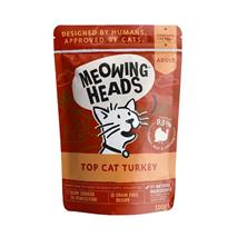 Meowing Heads Top Cat Turkey - puran - 100 g