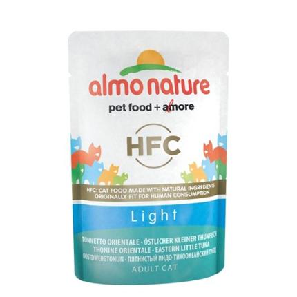 Almo Nature HFC Light - vzhodni pegasti tun - 55 g