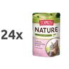 Schmusy Nature - puran in zajec - 100 g 24 x 100 g