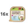 Schmusy Nature Kitten - losos in jagnjetina - 100 g 16 x 100 g