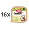 Schmusy Nature alutray - divjačina in tuna - 100 g 16 x 100 g