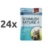 Schmusy Nature - tuna in riž - 100 g 24 x 100 g