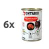 Ontario Cat - govedina, losos in sončnično olje - 400 g 6 x 400 g